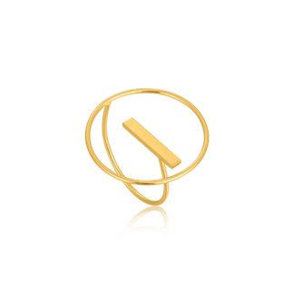 Modern Circle Adjustable Ring